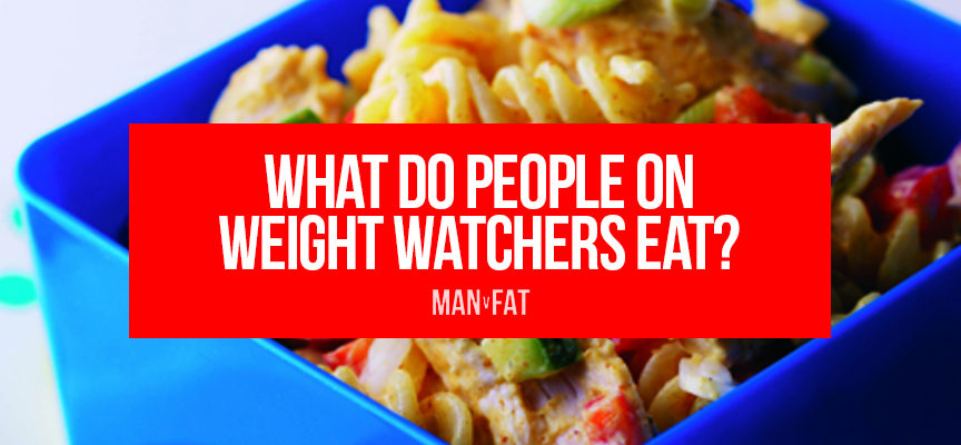 What do people on Weight Watchers eat?