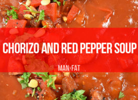 Recipe: Chorizo and red pepper soup