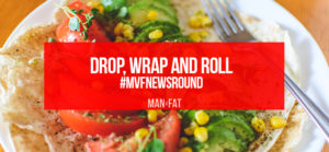 Photo: Drop, wrap and roll #MVFNewsround